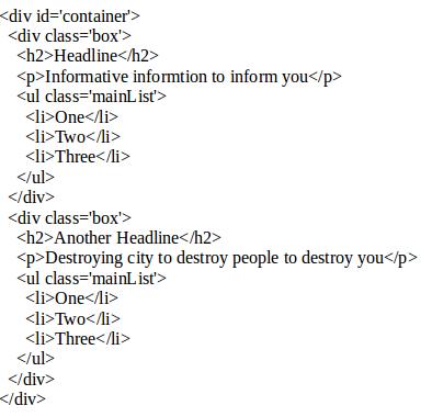 haml html