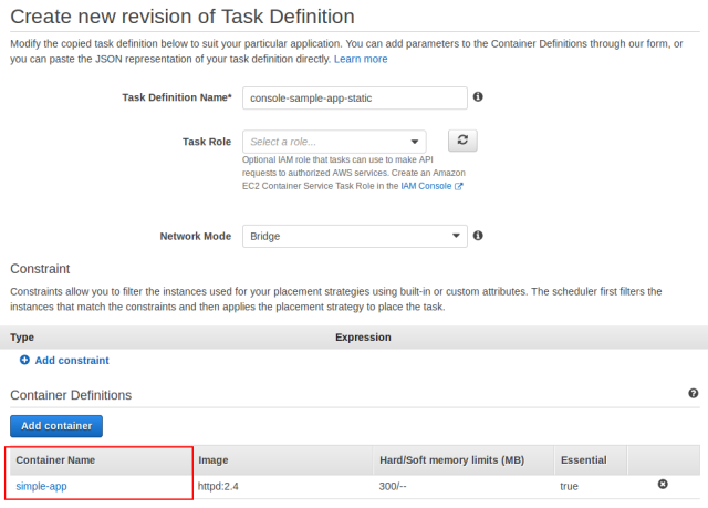 Deploying Updated Task Definitions And Docker Images On
