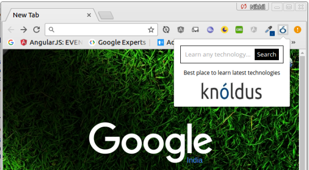 Knoldus_Chrome_Extension