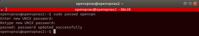 update-openvpn-password